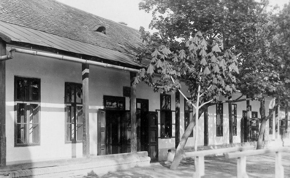 Budova starej židovskej školy na Holubyho ulici