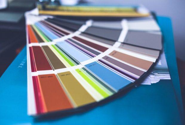 farebná jar, maľovanie, interiéru, farby