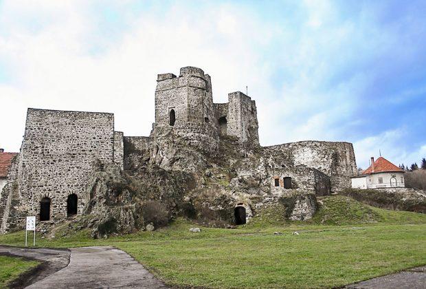 Mesto Levice si pripomína 865. výročie od prvej písomnej zmienky, Levice hrad, Levický hrad