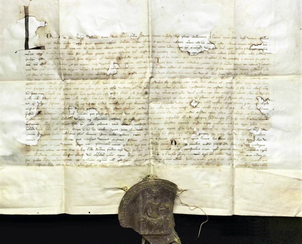 Mesto Levice si pripomína 865. výročie od prvej písomnej zmienky, listina