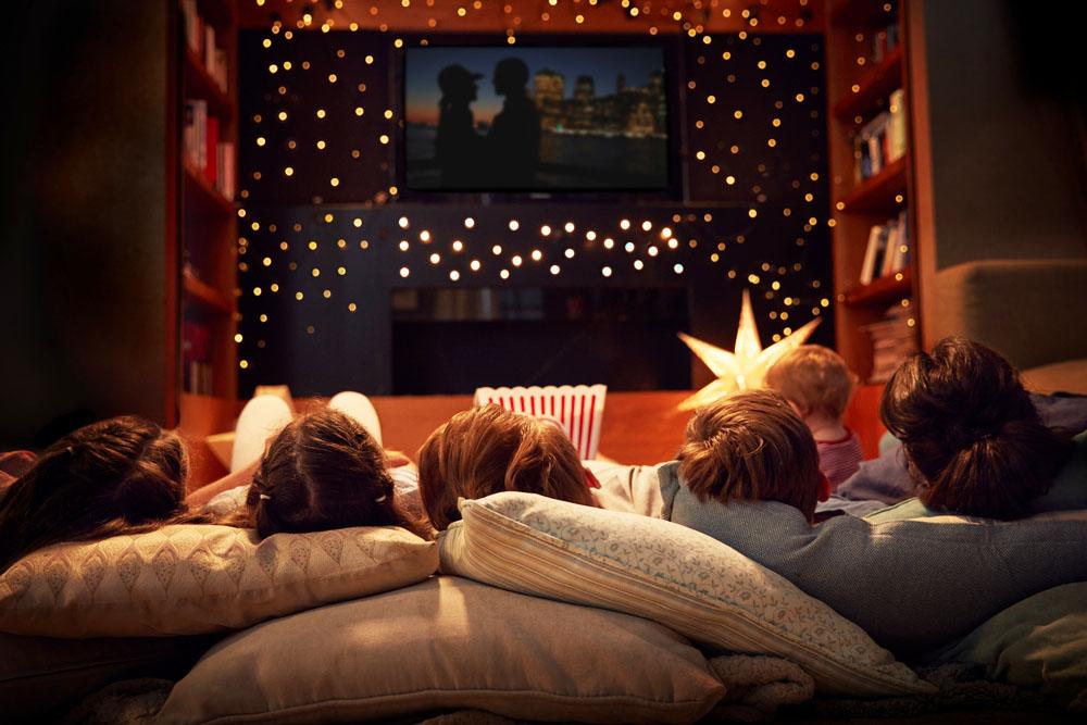 Obľubujete filmy a seriály? Vytvorte si doma ideálne miesto na sledovanie