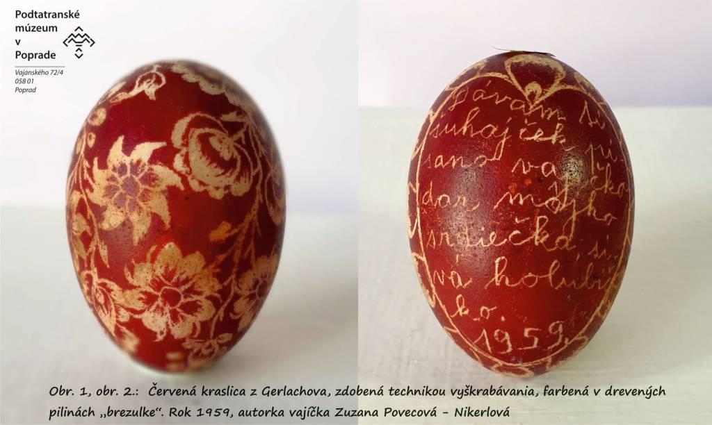 kraslice, Podtatranské múzeum, tradície