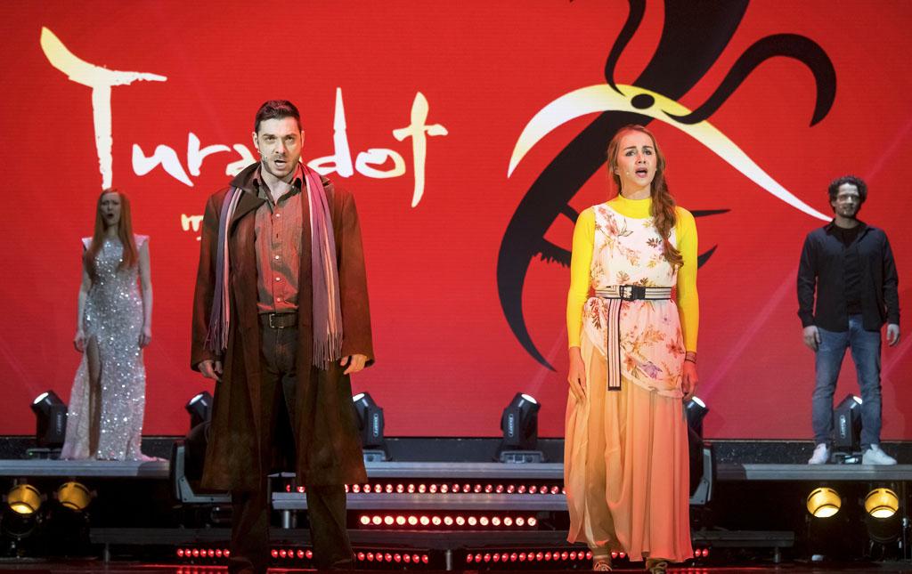 S LÁSKOU SA TO DÁ online koncert najkrajších muzikálových mel - muzikál Turandot - M.Drínová, P.Plevčík, L.Machciníková, P.Makranský