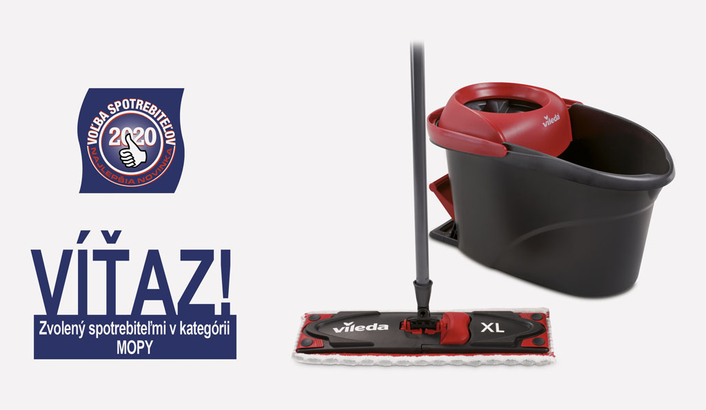 Vileda Víťaz Ultramat XL Turbo, mop pre vašu podlahu