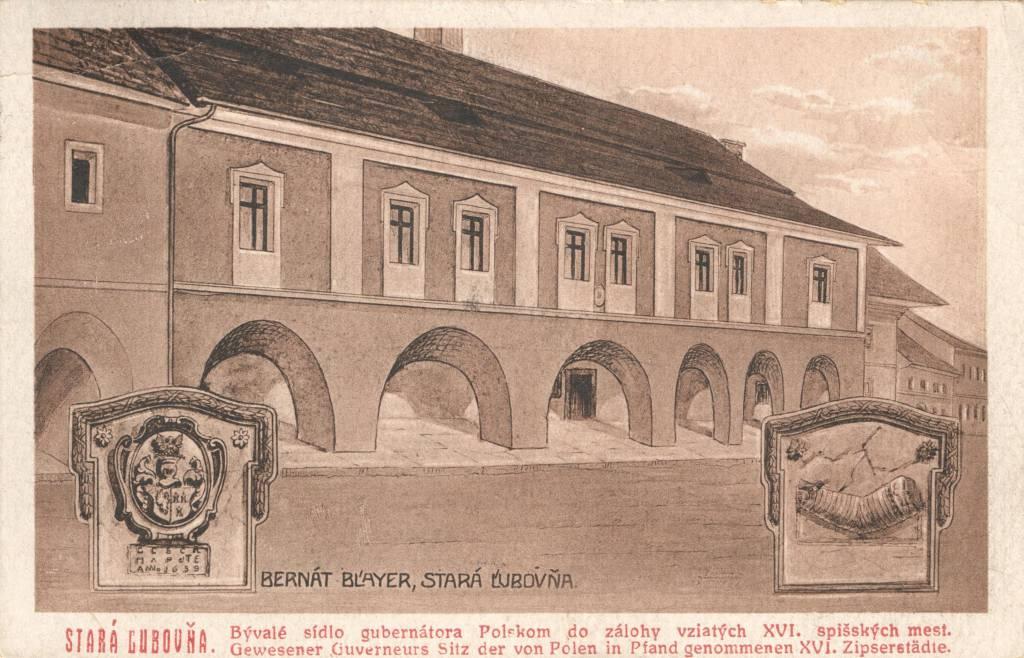 Stolpersteine Ľubovnianske Múzeum, Stará Ľubovňa