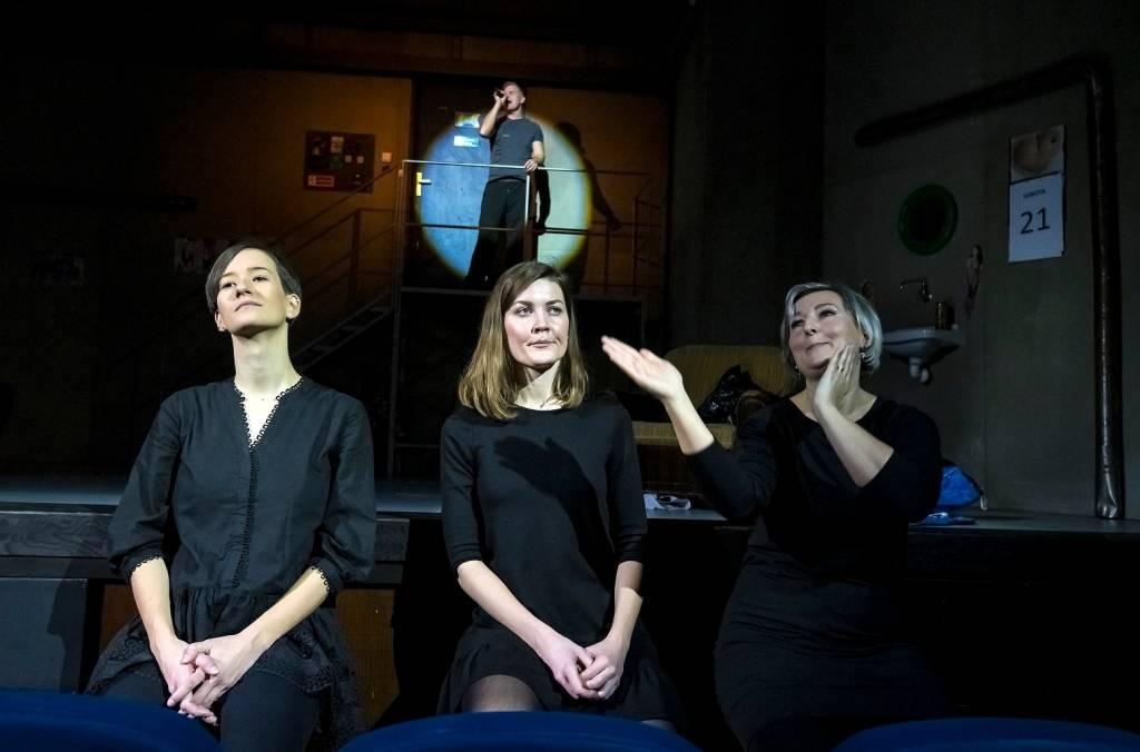 Aj muži majú svoje dni, Divadlo Nová scéna, tlmočené do posunkovej reči