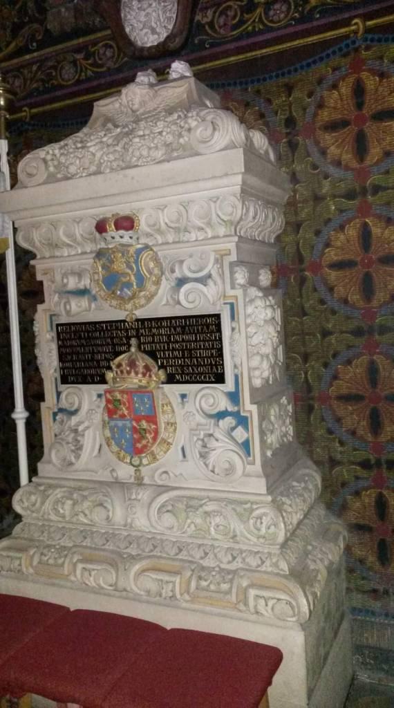 Koháry a Levice, Bitka pri Leviciach - Štefan I. Koháry - pamätník