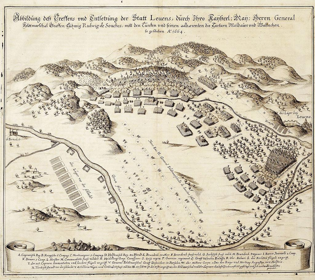 Štefan I. Koháry, Bitka pri Leviciach 19.7.1664