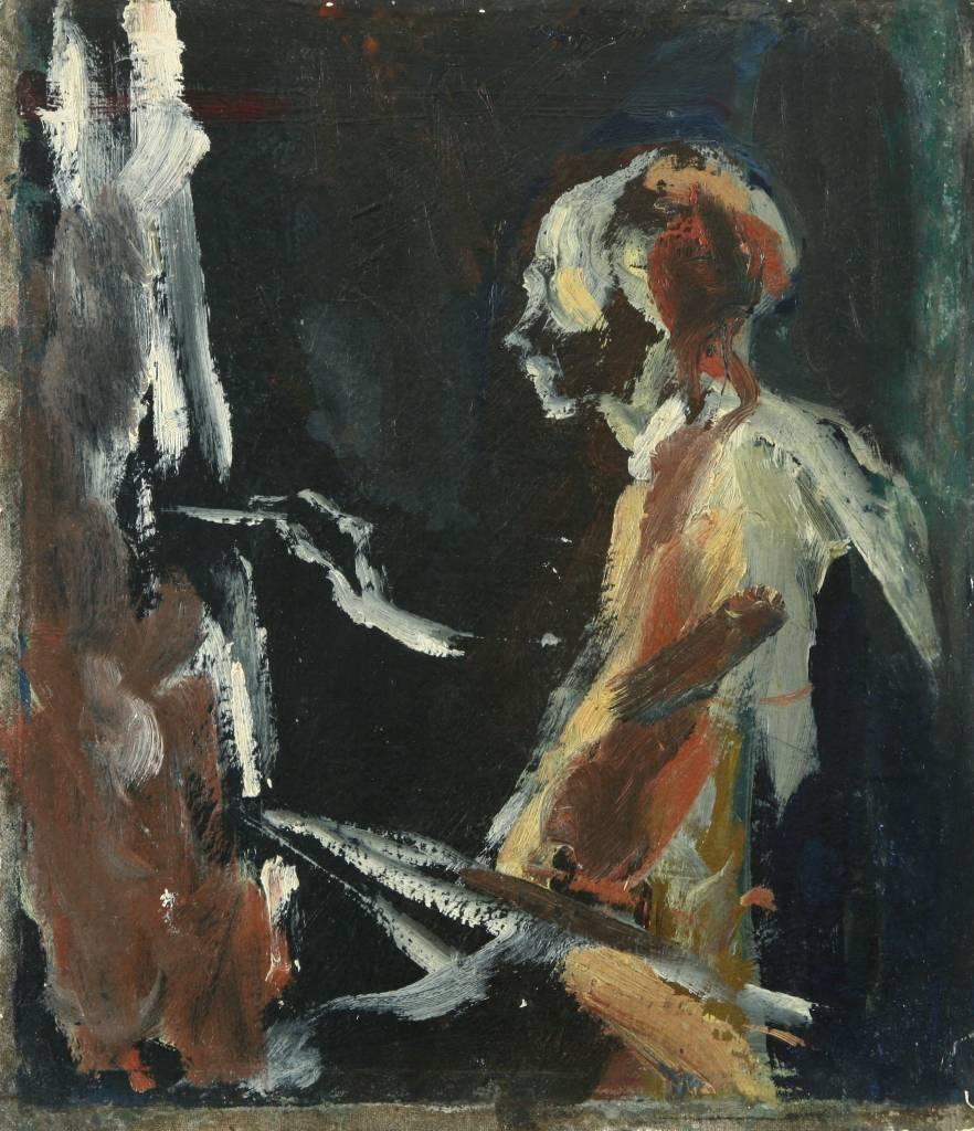 akademický maliar Ctibor Belan, olejomaľba