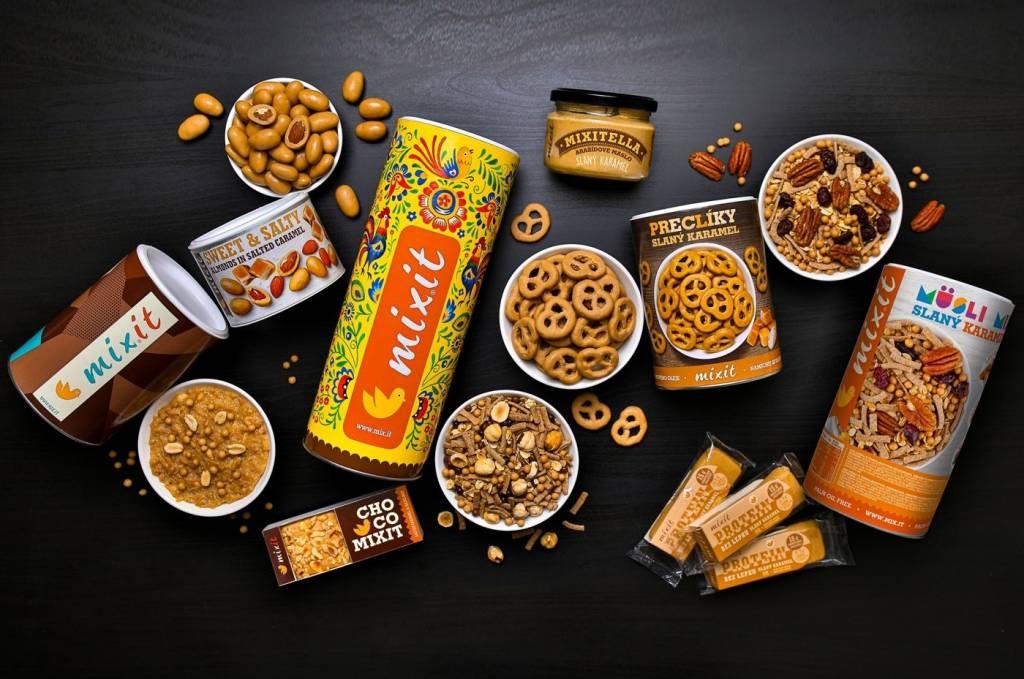 Mixit, slaný karamel, novinky,