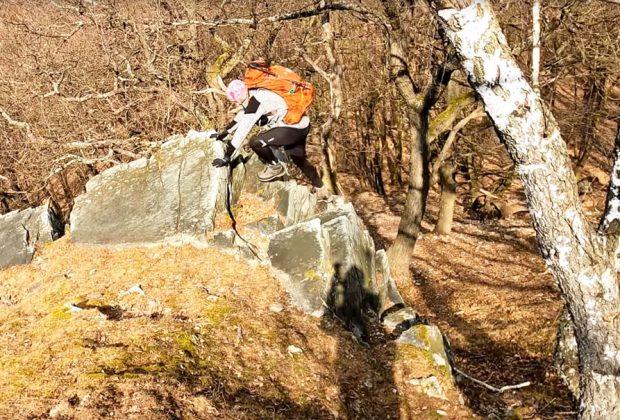 Nuda v lese, alias Čierna skala v pohorí Tribeč