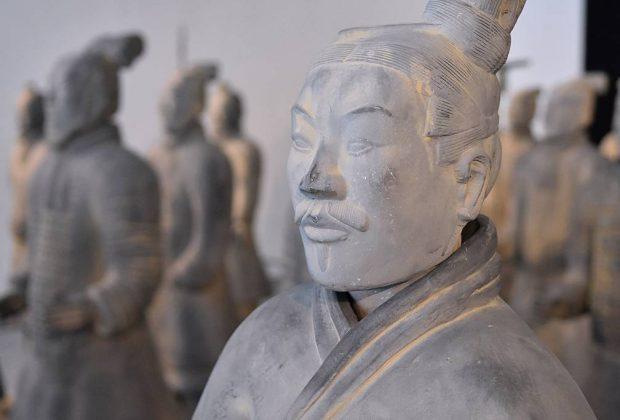 Terakotová armáda, Múzeum v trebišove, vystava