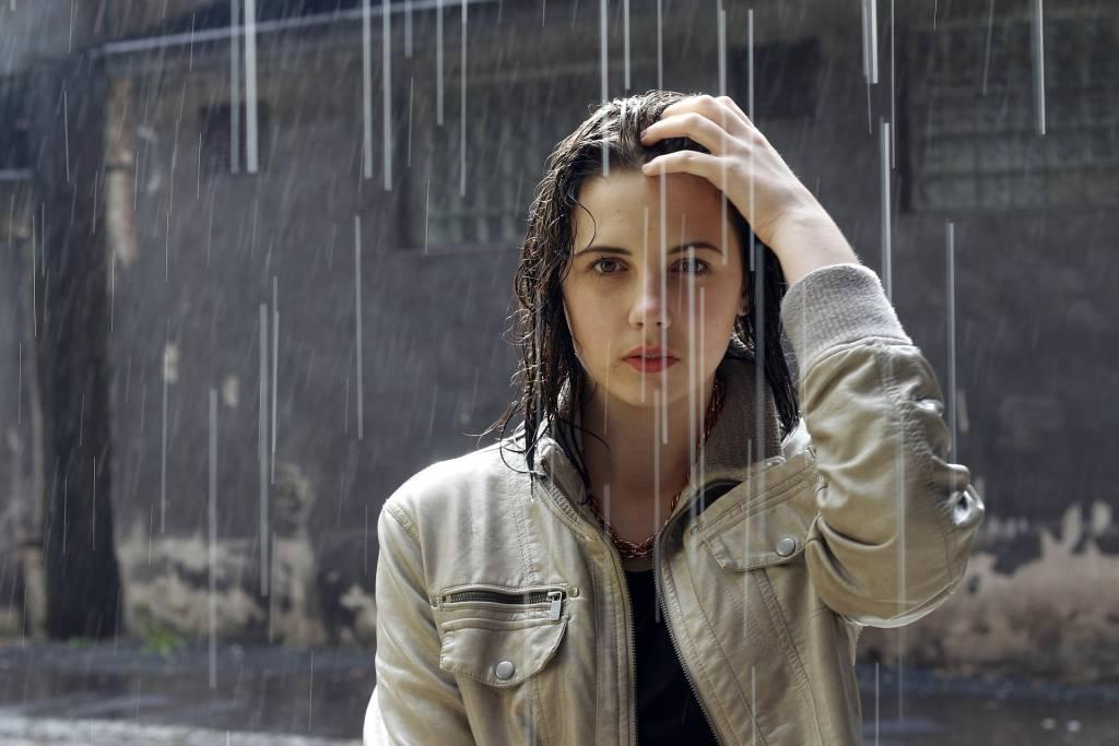 dážď, meteostanice Orava