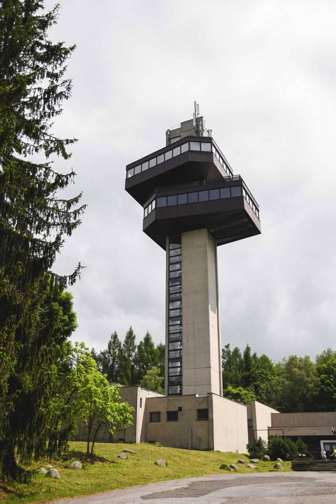 Vyhliadková Veža Na Dukle, vojenská história