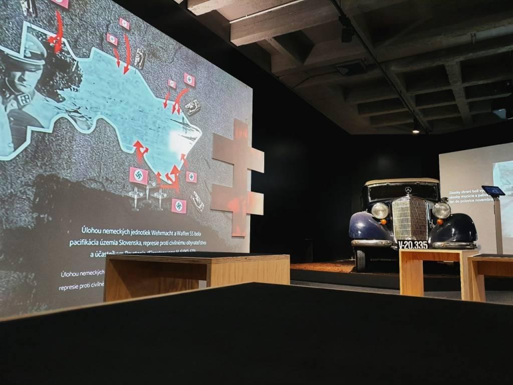 multimediálna digitálna výstava Múzeum SNP