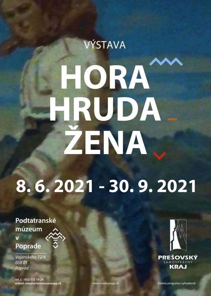 Výstava Hora hruda žena v Podtatrankom múzeu v Poprade sonda do života a prírody