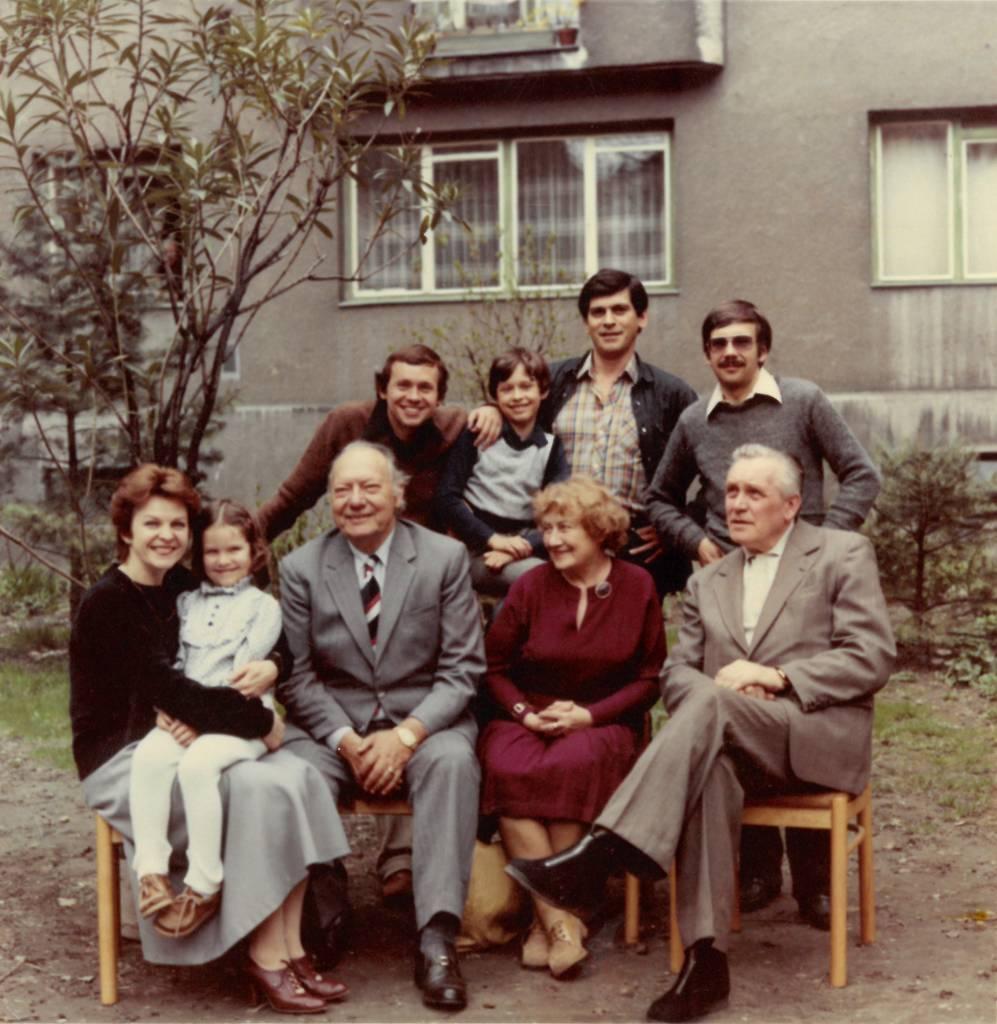 Rozhlasová rodina Bielikovcov