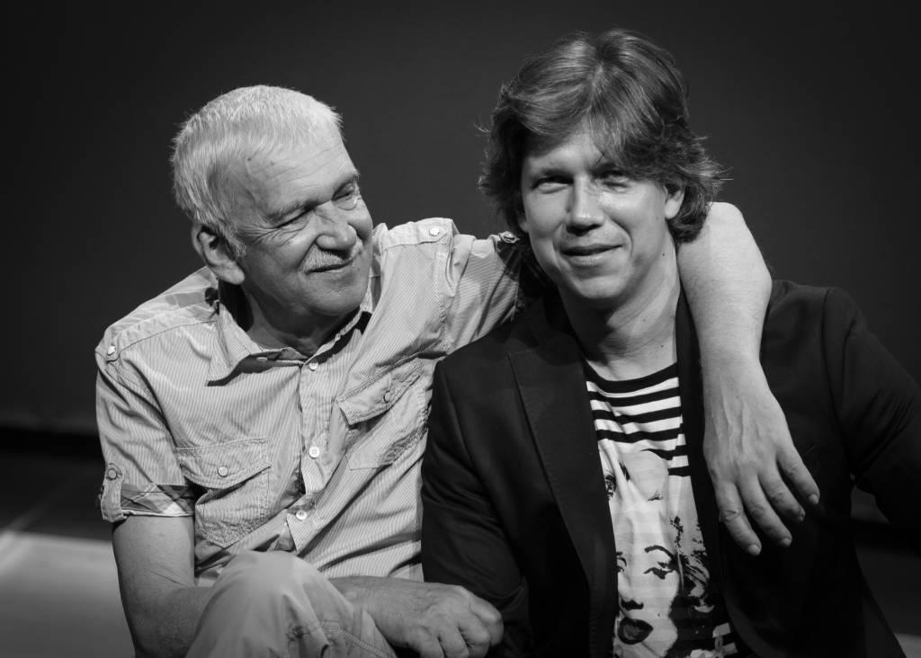 Dušan Kaprálik - otec a syn Martin