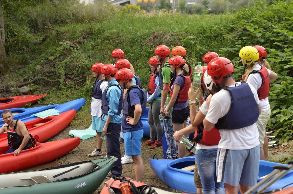 Splavovanie rieky Ondava