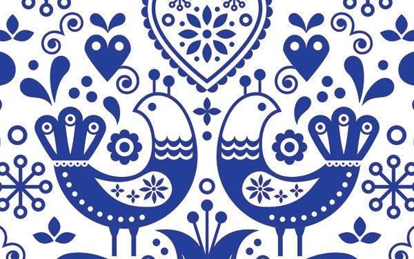 modrotlač VtáčikyModra Na Bielej Takoy