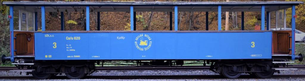 Starý vagón v očakávaní na turistov , doprava, informácie o Slovensku, kultúra, pamiatky, relax