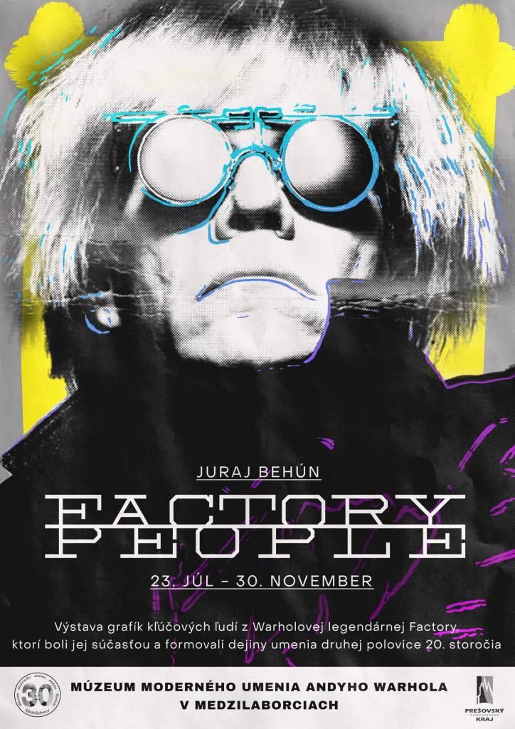 Factory people Výstava, Múzeum moderného umenia Andyho Warholu, kultúra, Slovensko, Medzilaborce