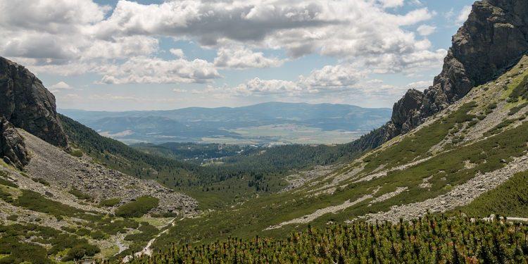 Pohľad na Nízke Tatry zo severu