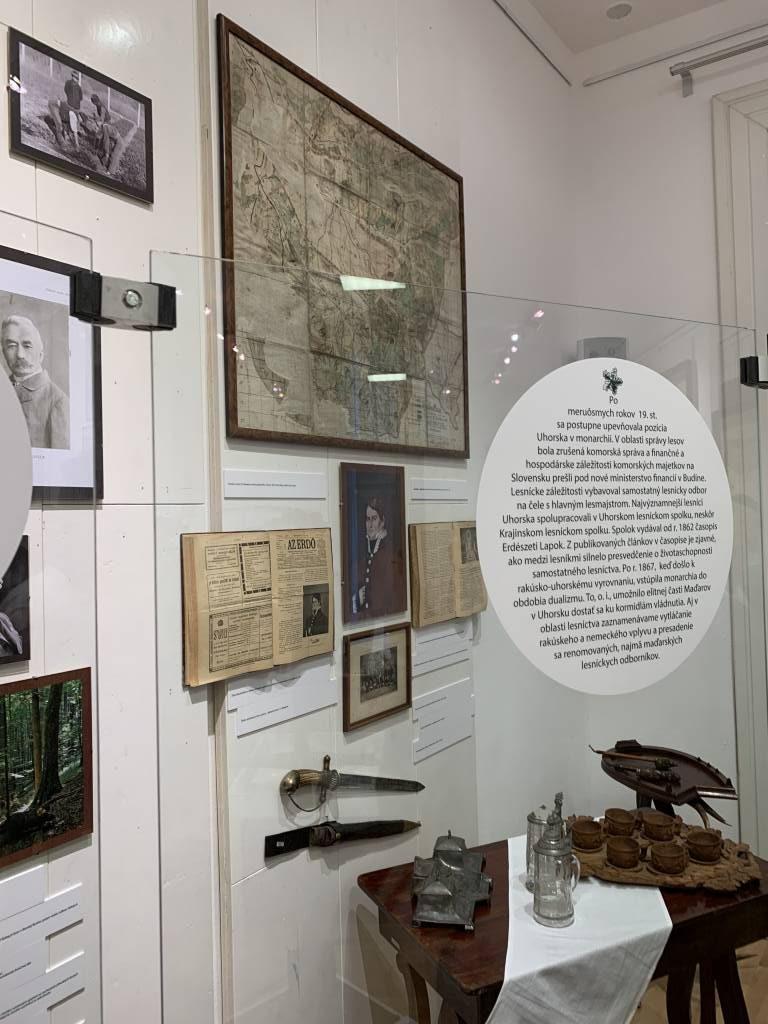 Lesnícke a drevárske múzeum Zvolen, leikon, enviro, lesy
