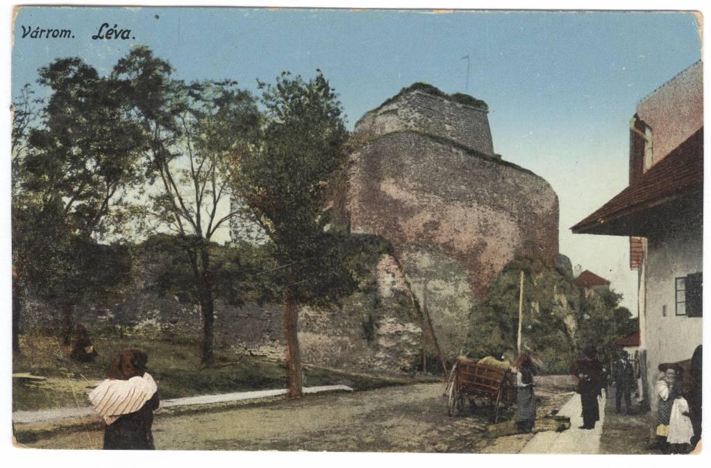 Levický hrad, história, lexikon