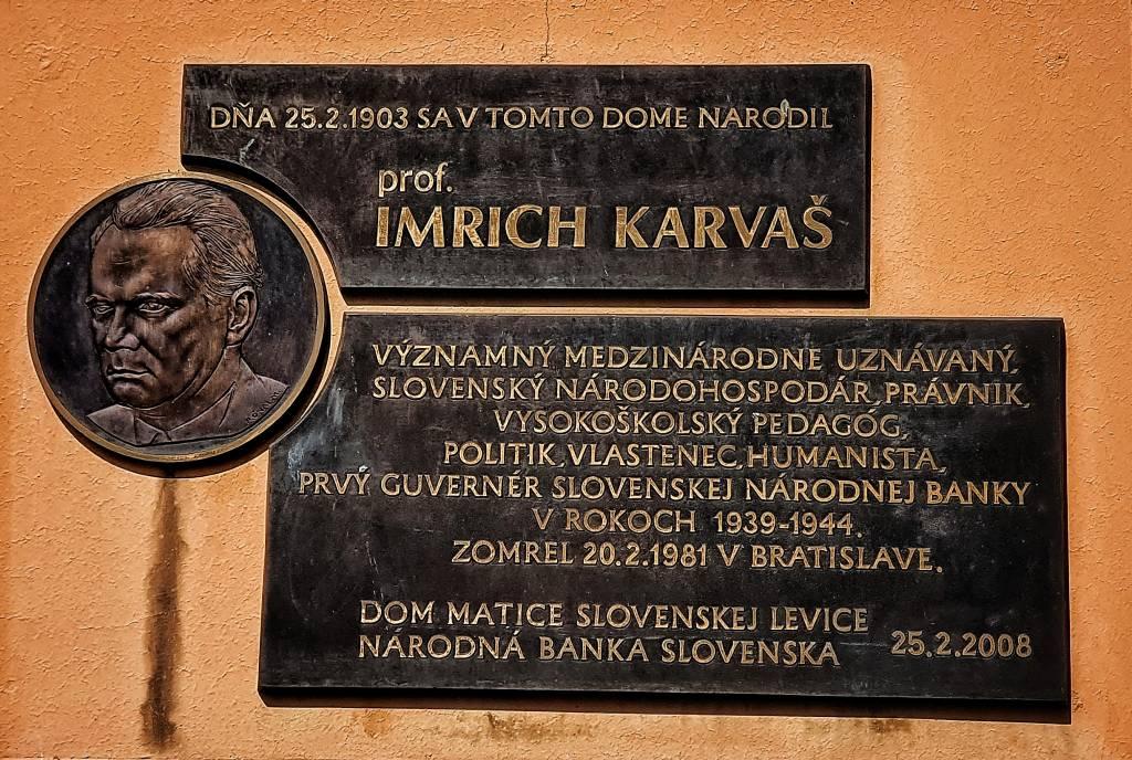 Osobnosti Karvaš, Levice