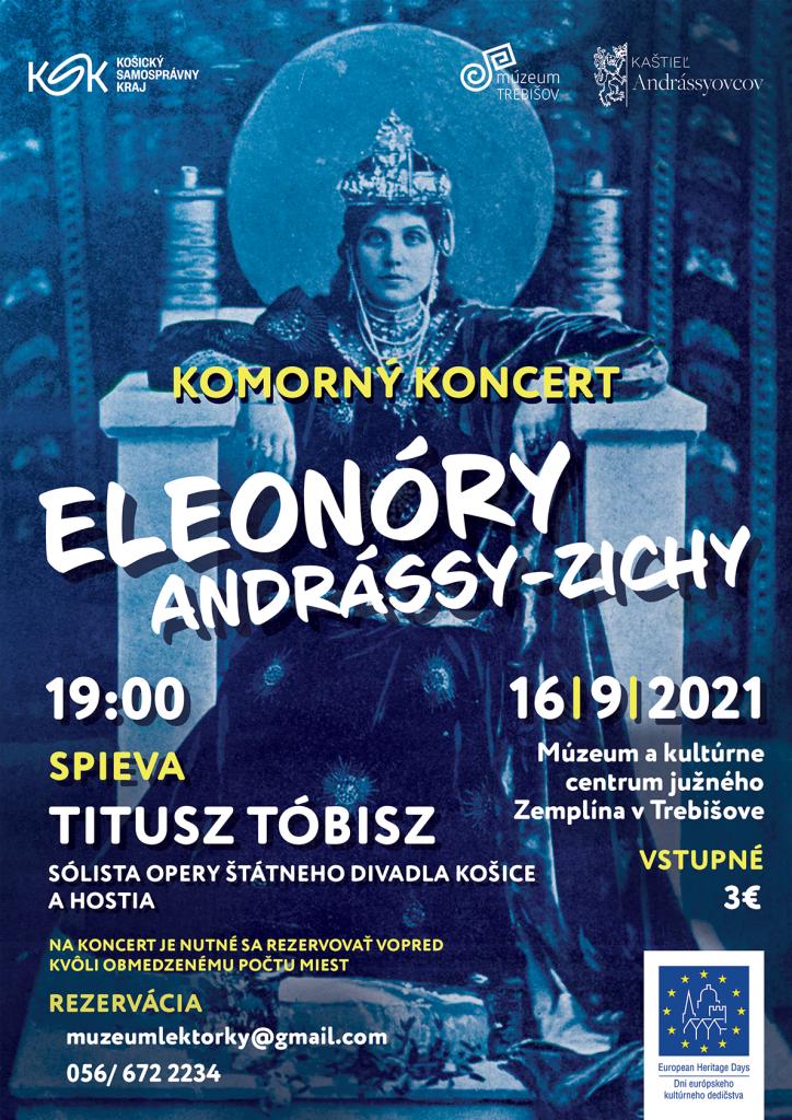 Dni európkeho kultúrneho dedičstva, Kaštieľ Andrássyovcov v Trebišove, lexikon, kultúra