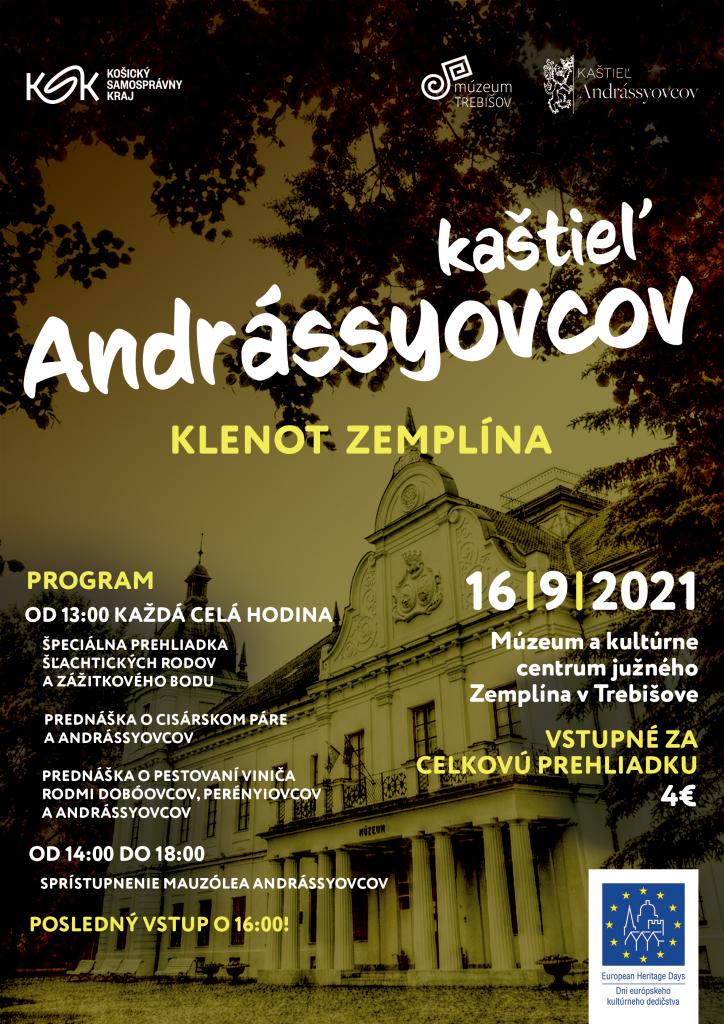 Kaštieľ Andrássyovcov v Trebišove, Dni európkeho kultúrneho dedičstva, lexikon