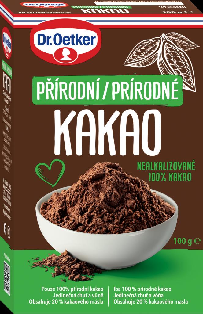 Dr Oetker Prirodné kakao, lexikon, gastro