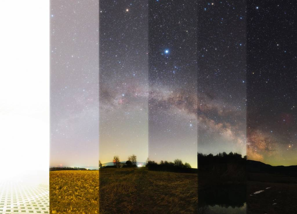 Svieťme si na cestu... a nie na hviezdy. Astro foto súťaž, SÚH, lexikon,